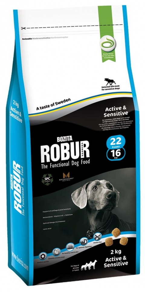 Robur Active & Sensitive 2kg