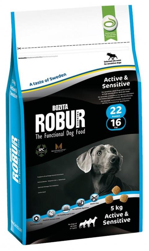 Robur Active & Sensitive 5kg