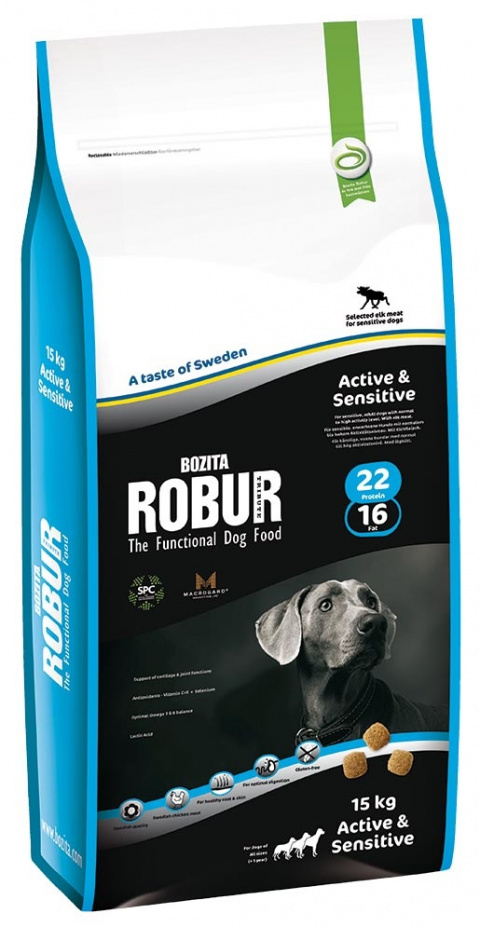 Robur Active & Sensitive 15kg