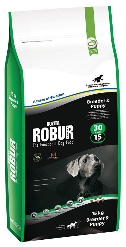 Robur Breeder & Puppy 15kg