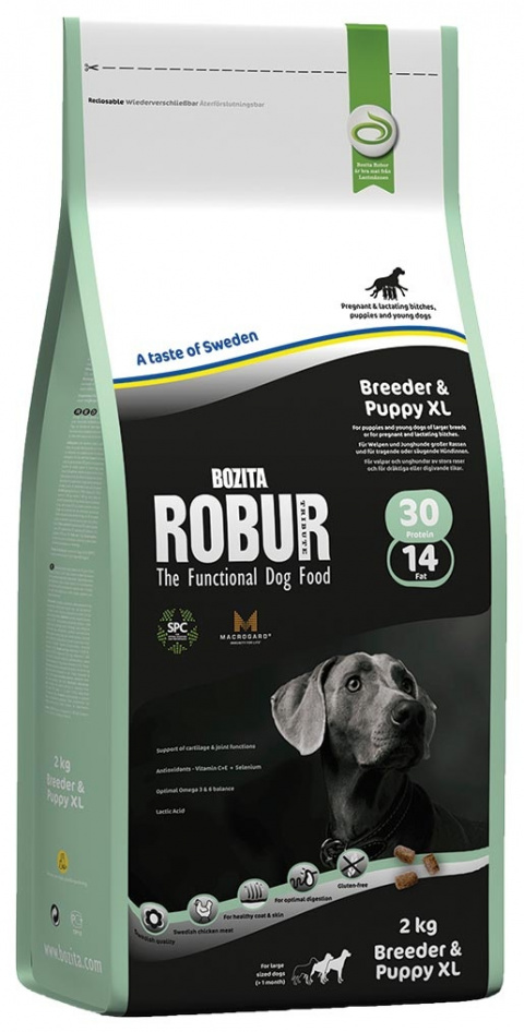 Robur Breeder & Puppy XL 2kg