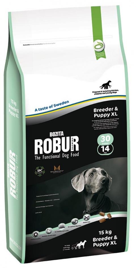 ROBUR Breeder & Puppy XL 15kg