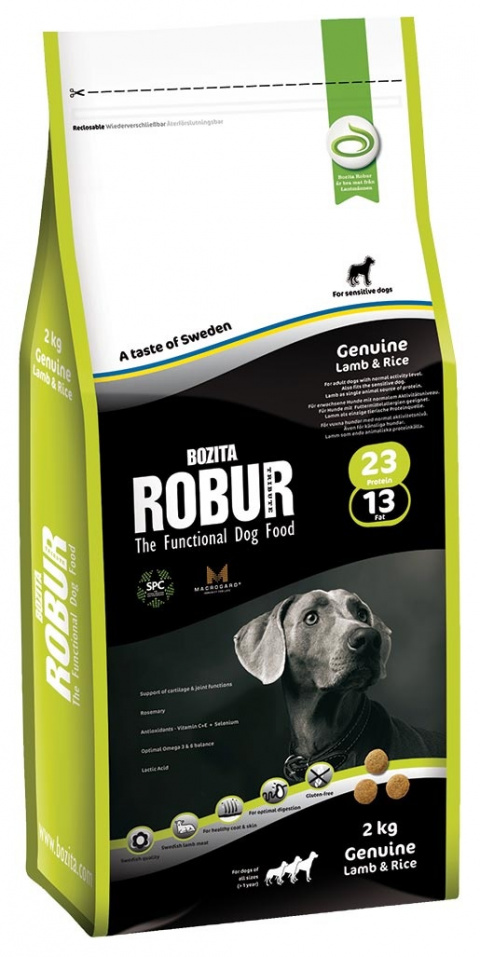 ROBUR Genuine Lamb & Rice 2kg