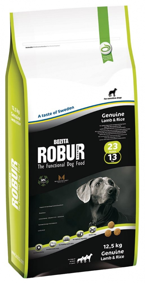 ROBUR Genuine Lamb & Rice 12,5kg