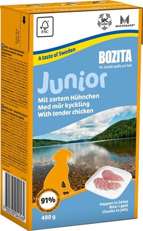 BOZITA Junior kousky masa v želé - Tetra Pak 480g