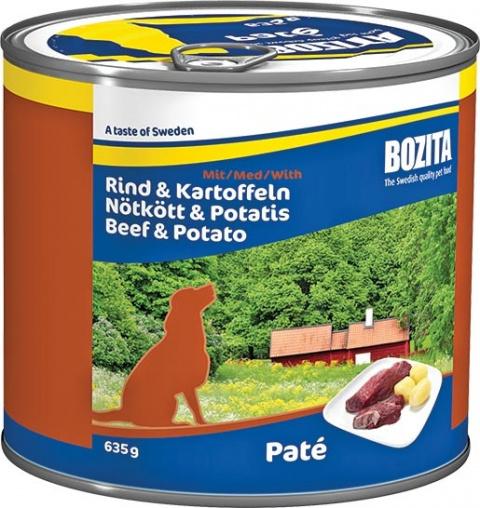 BOZITA konzerva hovězí maso a brambory 635g