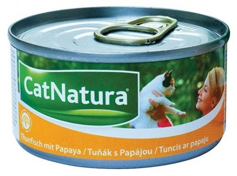 Konzerva Cat Natura Tuňák + Papája 85g