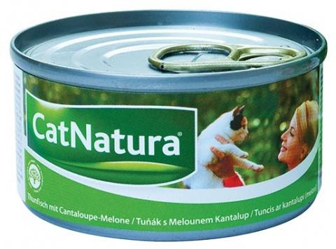 Konzerva Cat Natura Tuňák + Meloun Kantalup 85g