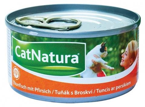 Konzerva Cat Natura Tuňák + Broskev 85g