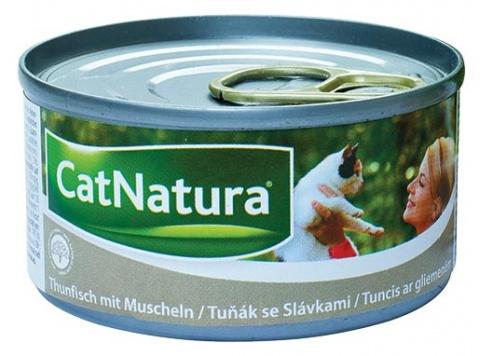 Konzerva Cat Natura Tuňák + Slávky 85g