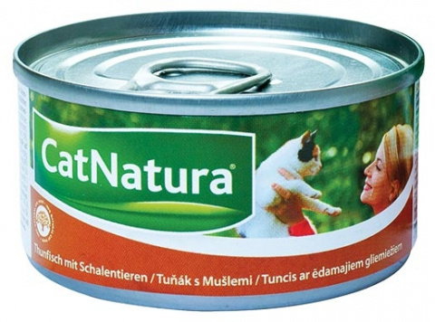 Konzerva Cat Natura Tuňák + Mušle 85g