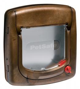 Dvířka STAYWELL hnědá s transparentním flapem 320