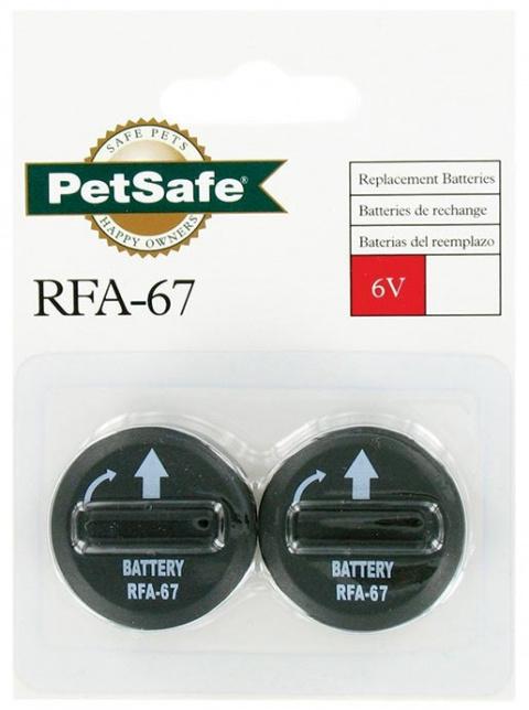 Baterie náhradní PETSAFE do obojků proti štěkotu 2ks