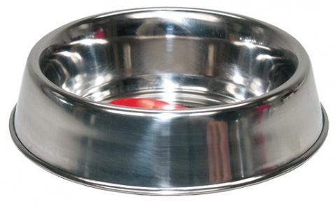 Miska DOG FANTASY nerezová s gumovým spodkem 14 cm 0,24l