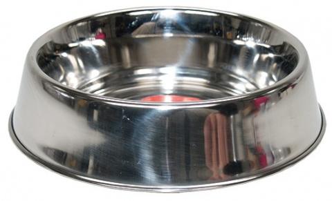 Miska DOG FANTASY nerezová s gumovým spodkem 17 cm 0,47l