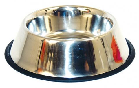 Miska DOG FANTASY nerezová s gumou 11 cm 0,3l