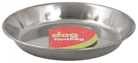 Miska DOG FANTASY nerezová mělká 13 cm 0,3l