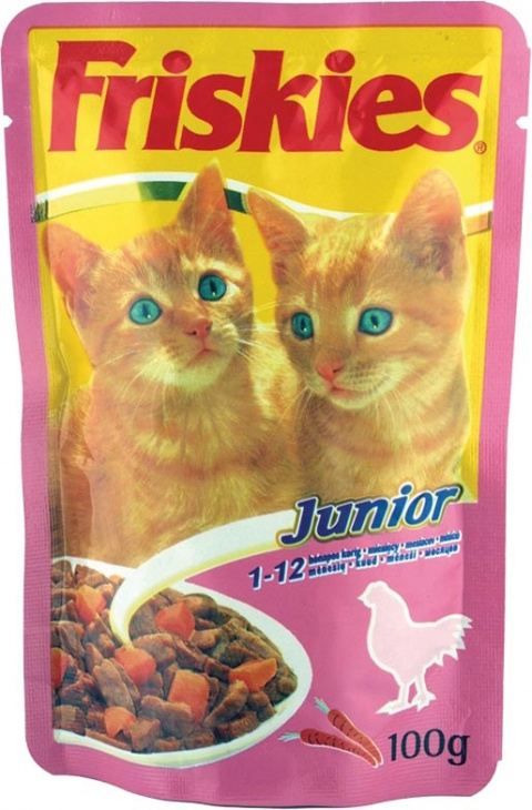 Kapsička Friskies Junior Kuře 100g