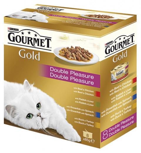 GOURMET Gold Multipack směs masových kousků 680g