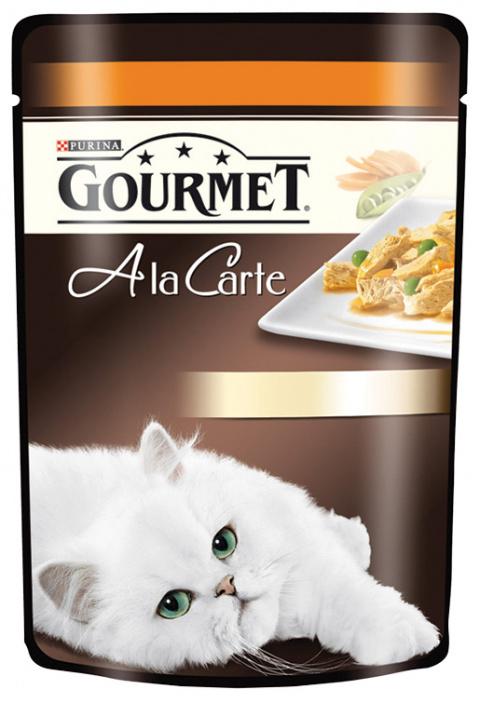GOURMET A la Carte kapsička krůta, hrášek a mrkev 85g