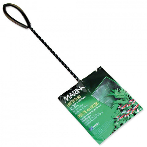 Síťka MARINA akvarijní černá 10 x 7,5 cm