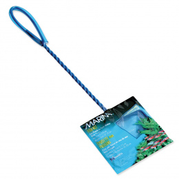 Síťka MARINA akvarijní modrá jemná 7,5cm