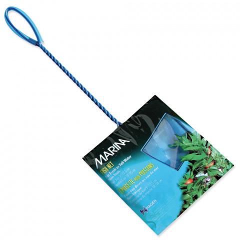 Síťka MARINA akvarijní modrá jemná 12,5cm title=