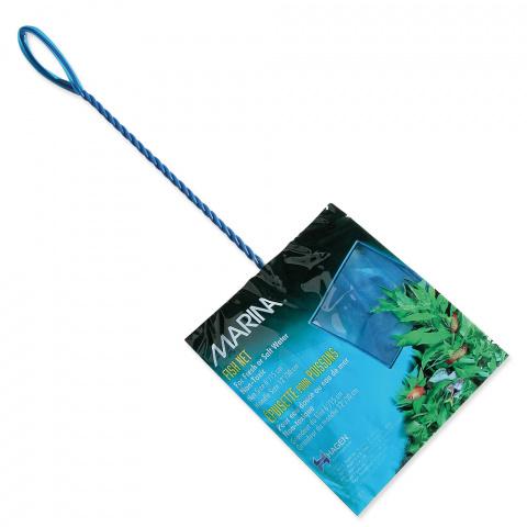 Síťka MARINA akvarijní modrá jemná 15cm title=