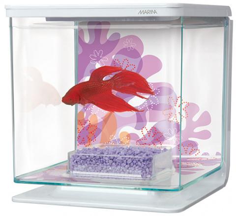 Akvárium MARINA Betta Kit Flower 2l