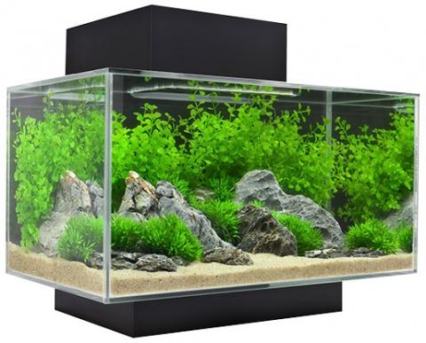 Akvárium set FLUVAL Edge Led black 23l