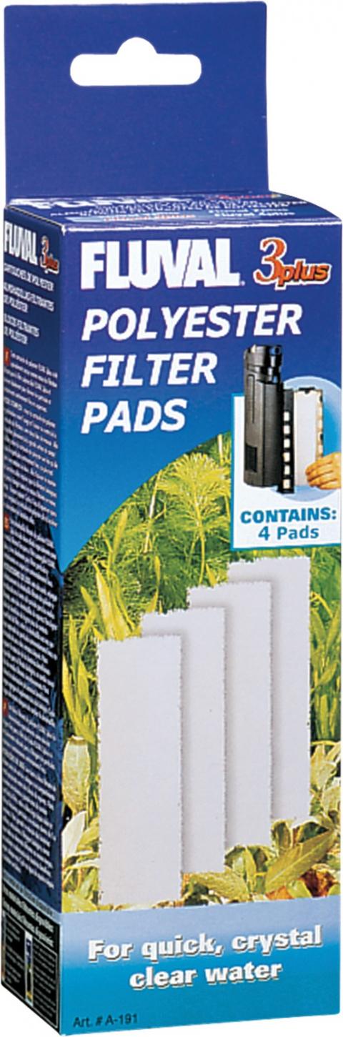 Náplň vata filtrační FLUVAL 3 Plus 4ks