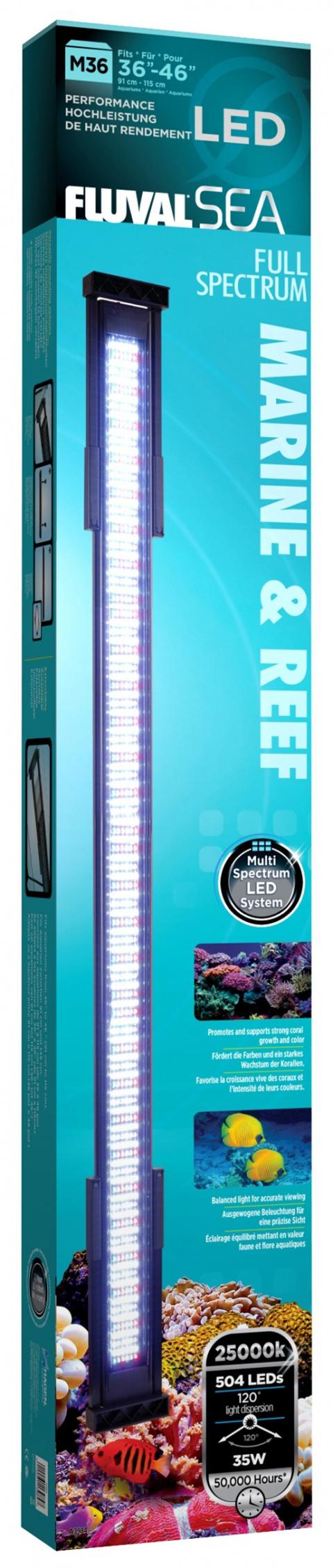Osvětlení FLUVAL MARINE & REEF LED 91 - 115 cm 36W