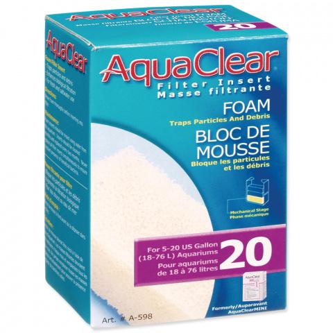 Náplň molitan AQUA CLEAR 20 (AC mini) title=