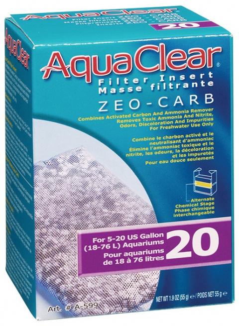 Náplň zeocarb AQUA CLEAR 20 (AC mini) 55g