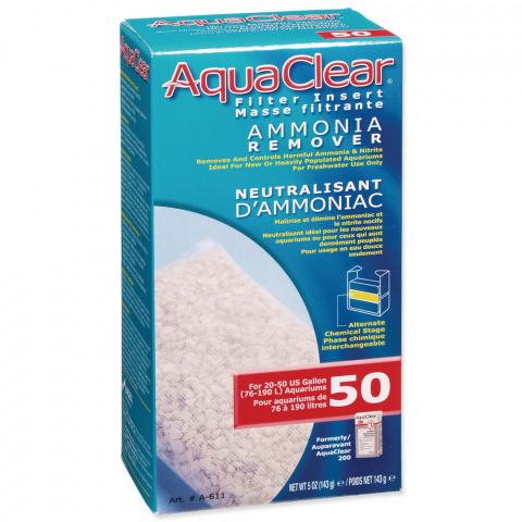 Náplň odstraňovač dusíkatých látek AQUA CLEAR 50 (AC 200) 143g title=
