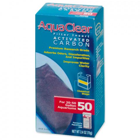 Náplň uhlí aktivní AQUA CLEAR 50 (AC 200) 70g title=