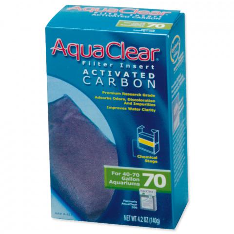 Náplň uhlí aktivní AQUA CLEAR 70 (AC 300) 140g title=