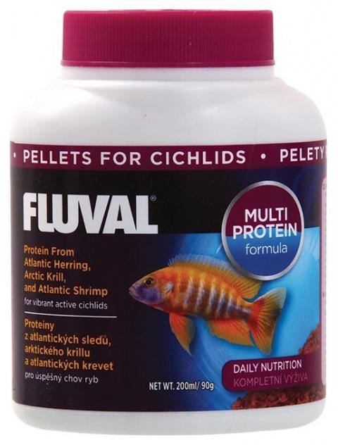 FLUVAL Cichlid Pellets 200ml