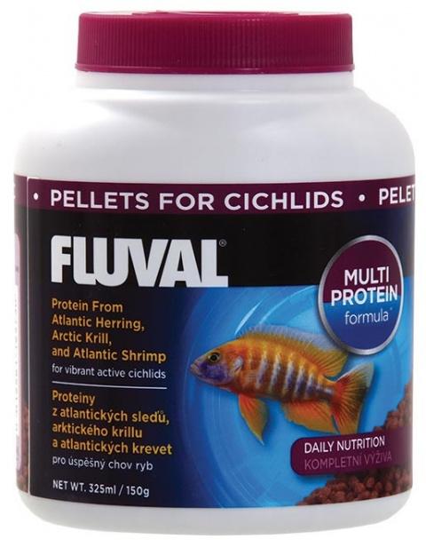 FLUVAL Cichlid Pellets 325ml