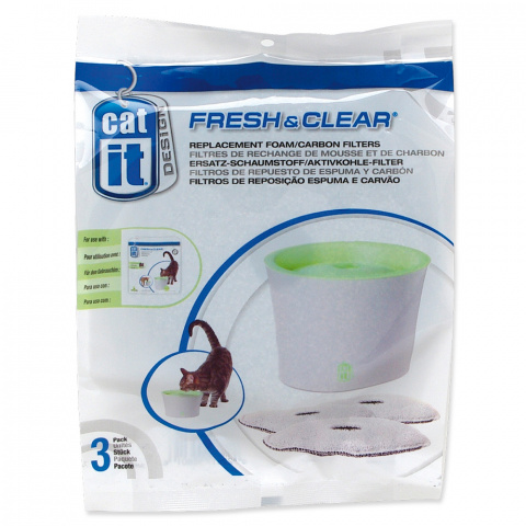 Náplň uhlí + molitan pro fontány CAT IT New 3ks title=