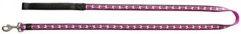 Vodítko DOG IT Butterfly růžové XL
