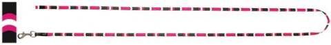 Vodítko DOG IT Cobra růžovo - černé S