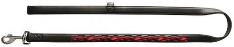 Vodítko DOG IT Reflexní černo - oranžové XL