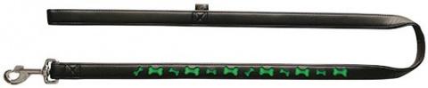 Vodítko DOG IT Reflexní černo - zelené XL 120cm