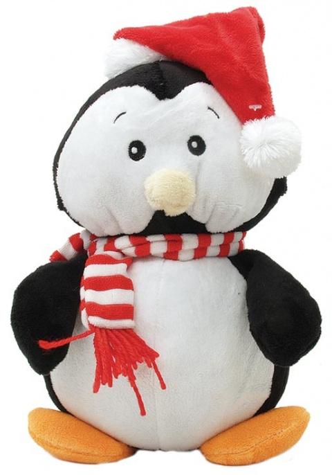 Hračka DogIt Penguin X-MAS 25cm