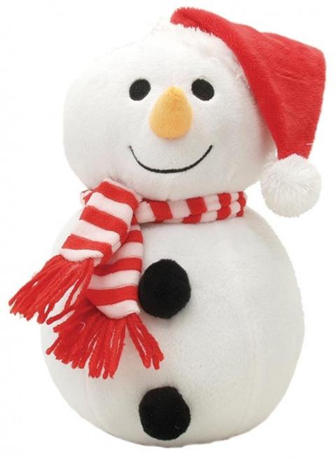 Hračka DogIt snowman X-MAS 25cm