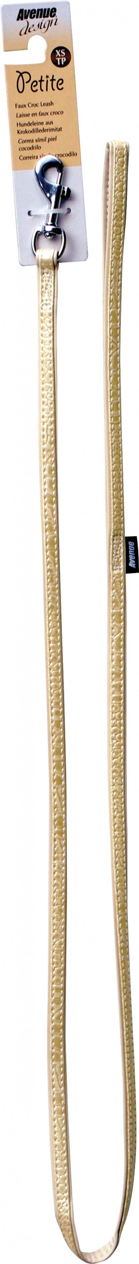 Vodítko AVENUE Petite krémové 122cm