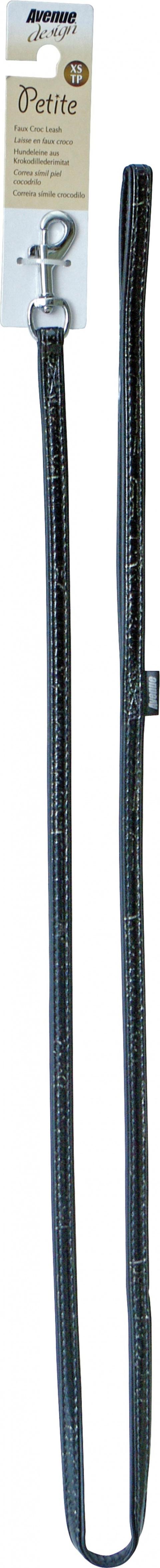 Vodítko AVENUE Petite černé 122cm