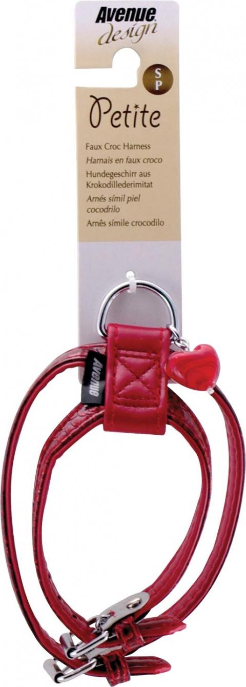 Postroj Avenue Petit červený 11mm