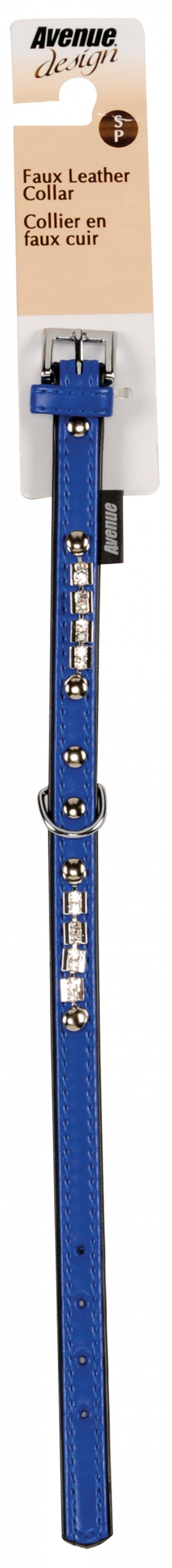 Obojek AVENUE Viva modrý S 32cm